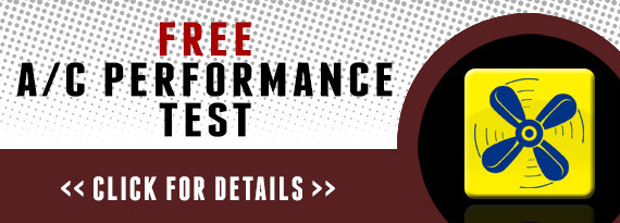 FREE A/C PERFORMANCE TEST JACKSONVILLE, FL